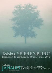 Tobias Spierenburg affiche exposition 2016