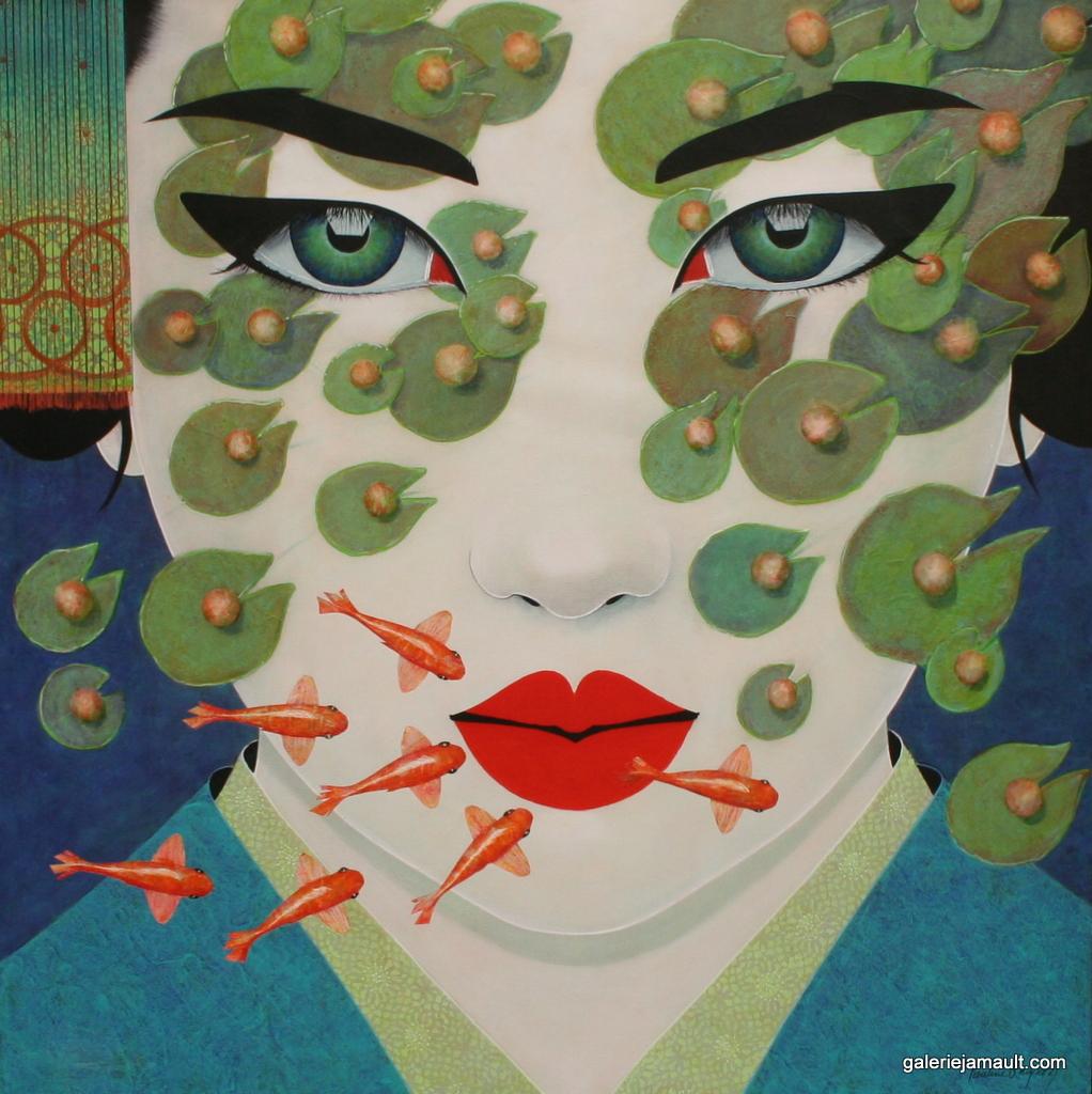 Tableau de l'artiste peintre Pauline Gagnon