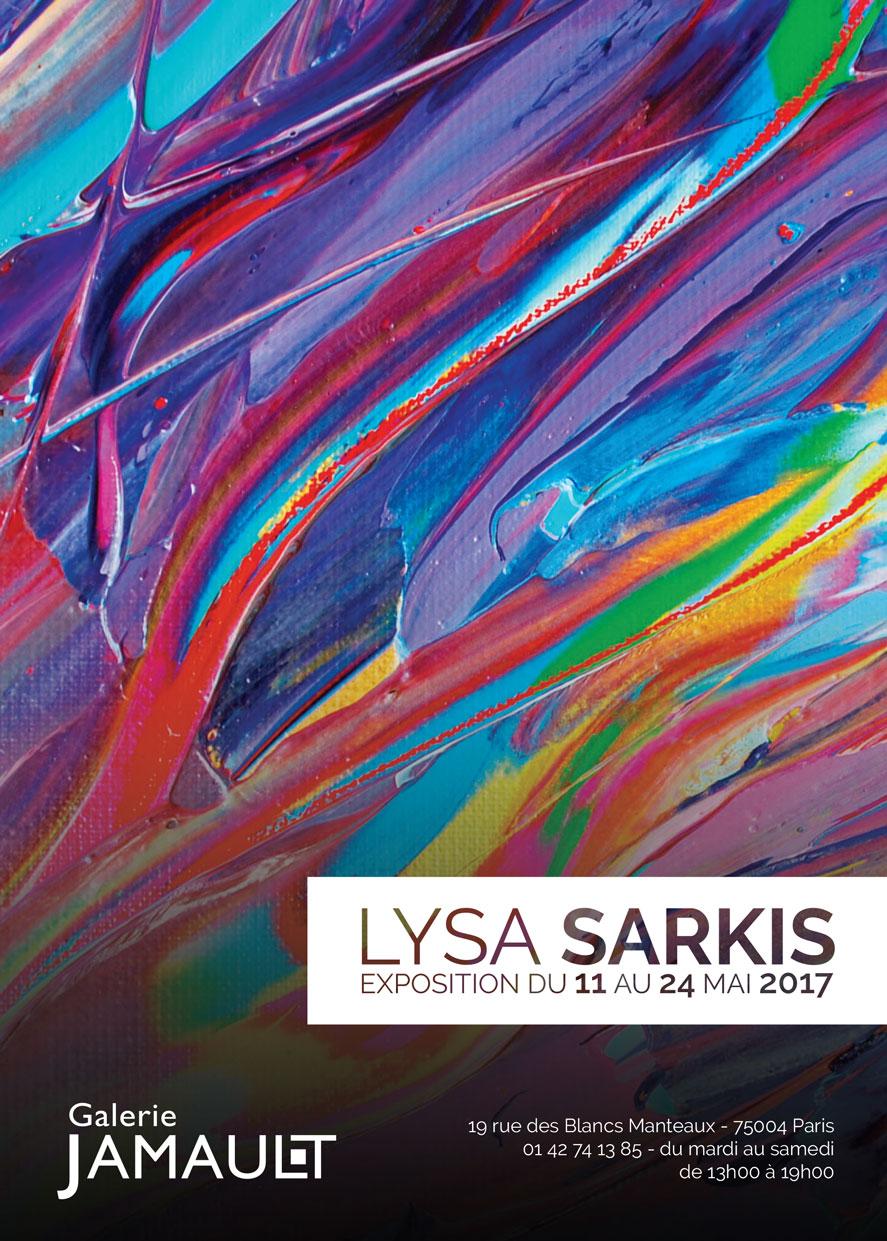 Exposition Lysa Sarkis - Galerie Jamault Paris - mai 2017