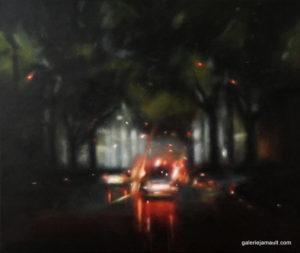 Peinture de Laëtitia GIRAUD présentée à la galerie Jamault de Paris