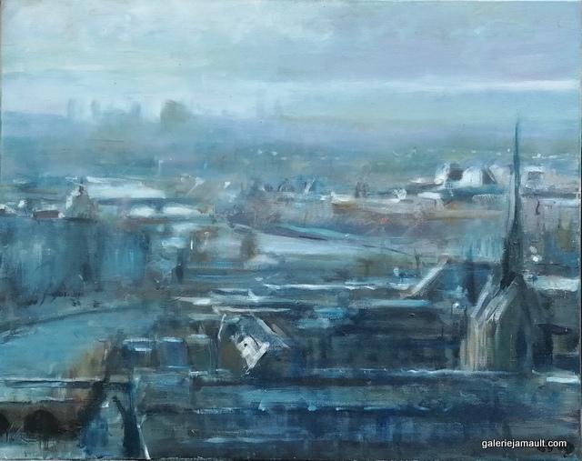 Peinture à l'huile de Léon SPIERENBURG