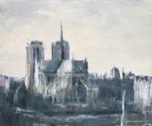 Vue de Paris, Notre Dame