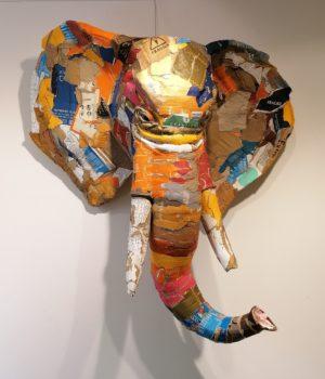 Sculpture originale de Joanathan BESSACI, ELEPHANT