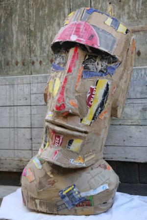Sculpture originale de Joanathan BESSACI, MOAI